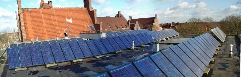 Gesamt-Solarstromanlage der Wilhelm-Raabe-Schule, Lüneburg.